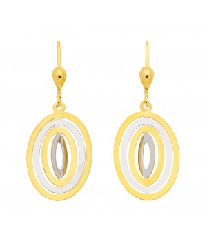 Boucles d'oreilles or massif 375  OS160942