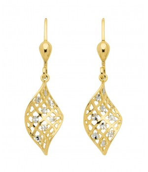 Boucles d'oreilles or massif 375  OS159454