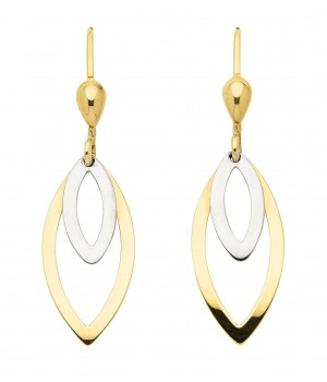 Boucles d'oreilles or massif 375  OS159452