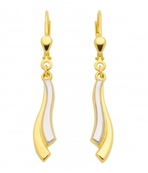 Boucles d'oreilles or massif 375  OS147539