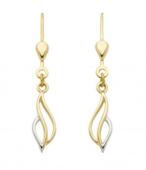 Boucles d'oreilles or massif 375  OS159450