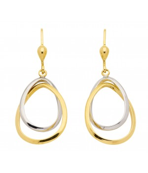 Boucles d'oreilles or massif 375 OS160946