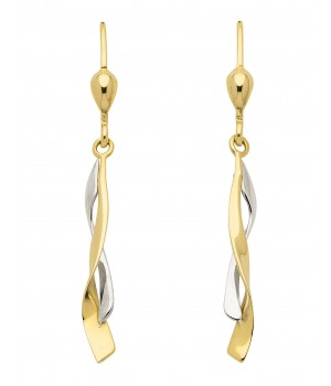 Boucles d'oreilles or massif 375 OS159453