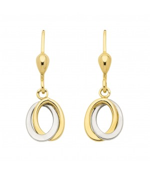 Boucles d'oreilles or massif 375 OS159451
