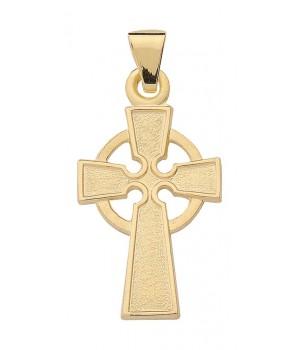 Croix celtique en or massif 585/1000 KR 126630