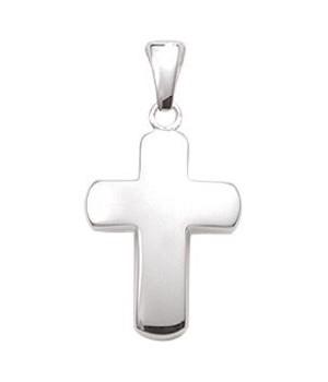 Pendentif croix chrétienne en argent AN85137