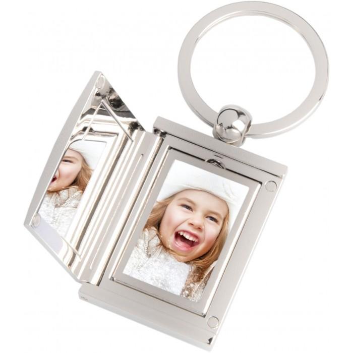 Porte clés photo acier inox gravure gratuite
