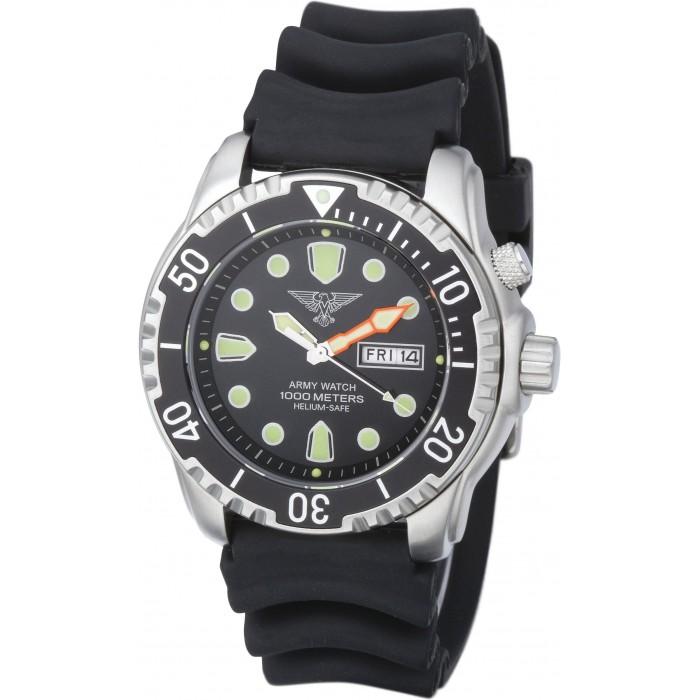 Montre de plongée Army Watch étanche 1000m