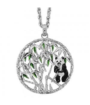 Pendentif arbre de vie Julie Julsen argent massif 45mm Panda