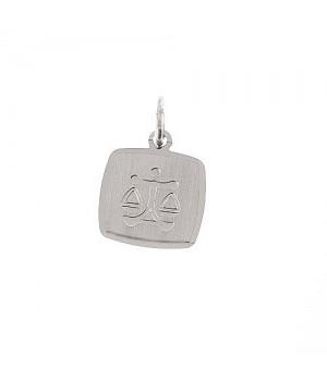AOS056 Pendentif signe du zodiaque Balance argent 925