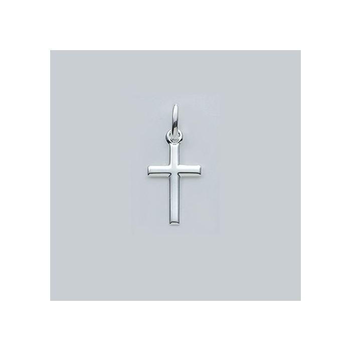 AOS093 Pendentif croix chrétienne en argent