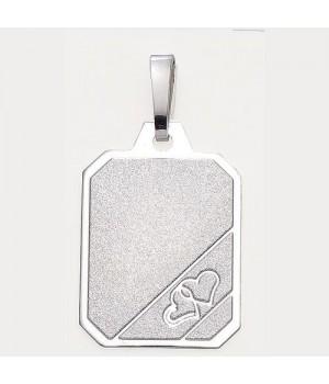 AOS078 Pendentif plaque 2...
