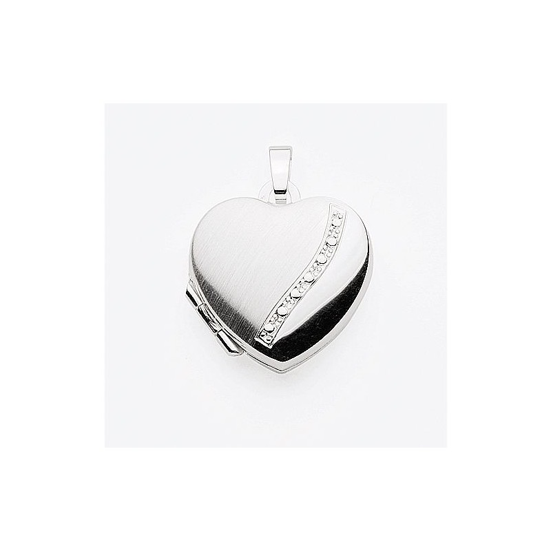 AOS125 Medaillon pendentif porte photo cassolette gravure gratuite