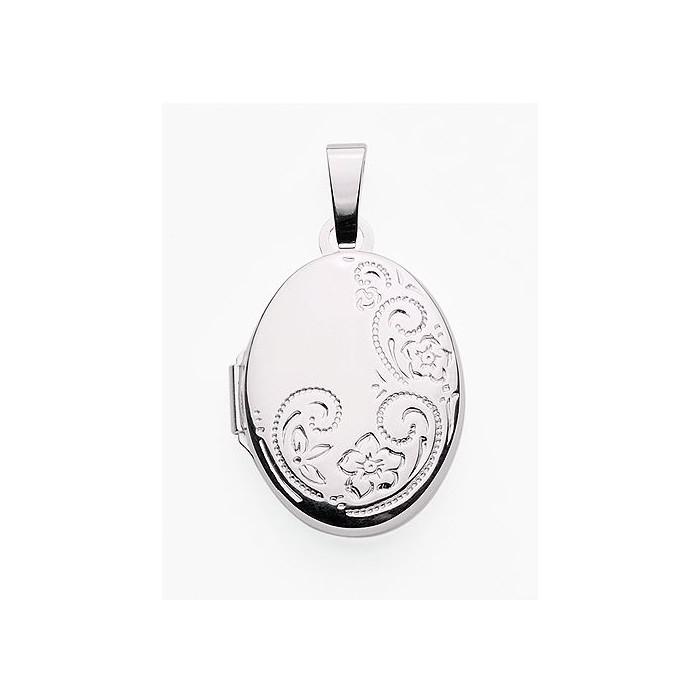 Aos133 medaillon pendentif porte photo cassolette gravure - Pendentif cassolette medaillon porte photo ...
