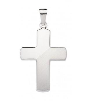 AOS219 croix chrétienne en argent massif 925/1000