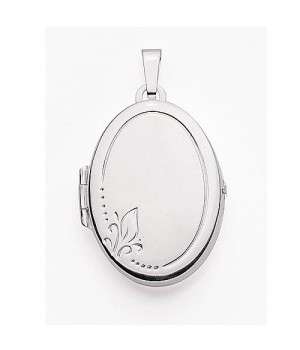 AOS137 Medaillon pendentif porte photo cassolette gravure gratuite